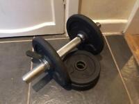 10kg adjustable dumbbell weight