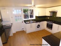 well presented 3 bedrooms house with 2 bathrooms, large Kitchen & Reception rooms and large garden