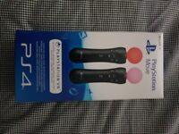PS4 Move Controllers VR Twin Pack [UNOPENED]