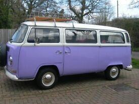 VW Baywindow 1972 Tintop Campervan