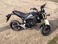 Honda MSX 125 **Low mileage**Years MOT