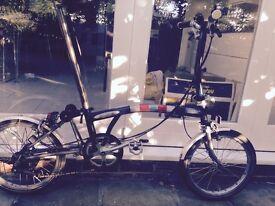 Brompton Superlight S6L-X Titanium Folding Bike High Spec - Priced to Sell