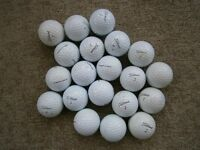 50 TITLEIST VARIOUS MODEL USED GOLF BALLS