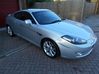Hyundai Coupe SIII. 2.0 16V. 2008 Petrol. FSH. Great Drive. Recent Cam belt, brakes and tyres.
