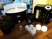 Tommee tippee perfect prep machine and bottle steriliser bundle