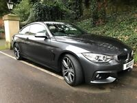 BMW 420D M SPORT 190 - 12 Months BMW Warranty + 3 Years Service Pack Immaculate