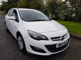 VAUXHALL ASTRA 1.7 CDTI 16V ECO-FLEX EXCLUSIVE DIESEL 0 PREVIOUS OWNER full service history