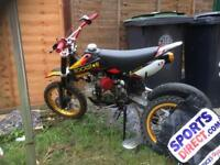 125 cc pitbike