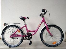 "(2178) 20"" Aluminium KROSS NOLLEE GIRLS CRUISER-STYLE SINGLE SPEED BIKE BICYCLE Age: 6-9, 120-135 cm"