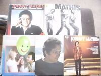 4 LP Johnny Mathis Bundle, 1 Andy Williams, collect in London or will post, original vinyl Bargain!