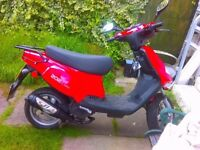 TGB 50cc scooter Great condition mot july 2018 great wee bike £550 decent offers considered