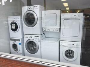 ECONOPLUS LIQUIDATION SALE ON A  SELECTION OF FRONTLOAD STACKABLE 24 INCHES WASHER DRYER SET  FROM  799.99 $ TX INCL
