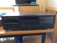 Technics Dual tape player/recorder - £25