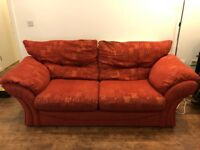 2 Piece Suite - Sofas seating 5
