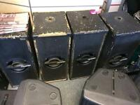 Celestion subs x4! Ideal for pub club or band