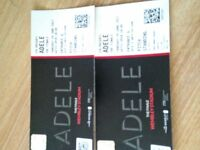 2x tickets for adele THURSDAY 29TH JUNE pitch standing