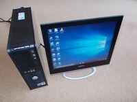 Desktop PC Windows 10 Pro - Ready to Use - 250GB HDD 4GB RAM