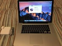 Apple Macbook Pro - 15inch (Intel i7 2.3 Ghz, 16GB Ram, 500GB Storage)