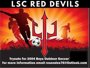 2004/U14 Boys competitive soccer try outs.
