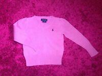 Girls Ralph Lauren Pink top