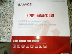 CCTV DVR 4 channel High Resolution 500GB For Sale