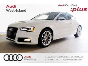 2016 Audi A5 2.0T KOMFORT+ QUATTRO // NAVIGATION // SPORT PACK