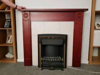 Electric fire & fireplace