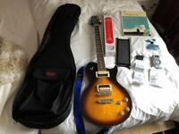 Aria Electric Guitar and Accessories