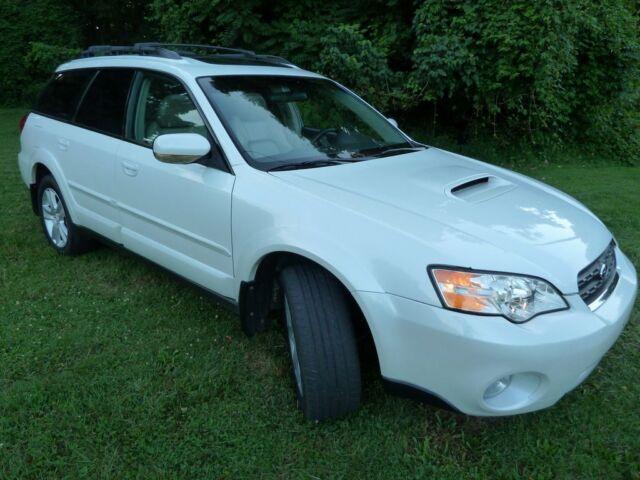 07 Subaru Legacy Wagon Outback Xt Turbo Nav No Reserve
