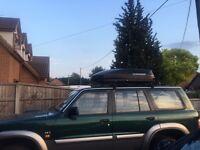 Exodus 470l roof box gloss black (470 litres/60Kg)