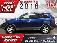 2008 Hyundai Veracruz Ltd-7 PASS-AWD-Heated Leather-Sunroof-DVD