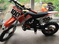 Ktm sx50 pro senior 2007