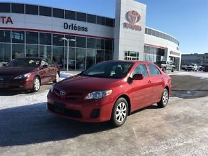 2013 Toyota Corolla CE/ LEASE RETURN, ONE OWNER