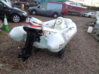 Boat Avon RIB 3.1 With Tohatsu 30 HP Very Fast
