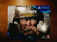 BRAND NEW PS4 Call of Duty WWII bundle