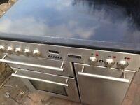 Silver Range halogen electric cooker..90cm Mint