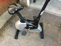 Exercise bike - York Fitness with digital display