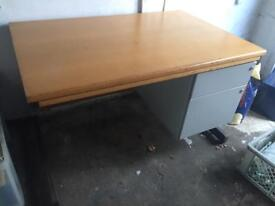 Solid Wood Table With Draws