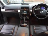 VW TOUAREG 2.5 TDI SE SPORT AUTO DIESEL LEATHER SAT NAV