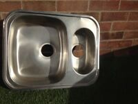 Stainless Steel Undermounted sink (reversible)