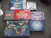 Job Lot of 21 Adult and Children's Board Games
