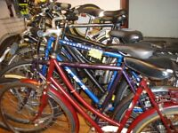 Used Bikes from £49, new / second hand bicycle parts, cycle tyres / tubes (full range)