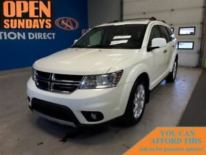 2013 Dodge Journey R/T AWD! SUNROOF! LEATHER!