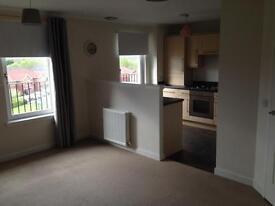 New top floor 2 bedroom flat for rent with full loft flooring, Motherwell