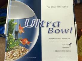 Ultrabowl 45l Aquarium in good used condition