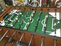 Large table football, excellent condition, very strong, heavy,legs are removable,