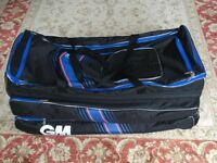 Cricket Bag || Gunn & Moore Original Easy Load Wheelie (Cost £65)