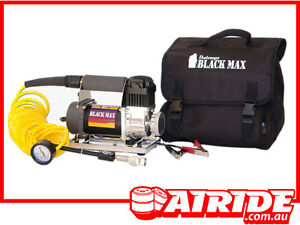 BUSHRANGER-BLACK-MAX-12-VOLT-AIR-COMPRESSOR-KIT-SUIT-2WD-4WD-HILUX-RODEO-ETC