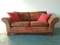 MARKS & SPENCER / M&S FABRIC SOFA / SETTEE / SUITE WITH CUSHIONS DELIVERY AVAILABLE