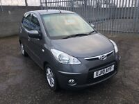 2010 Hyundai I10 1.1 Edition 5dr FINANCE AVAILABLE / 1 Year MOT